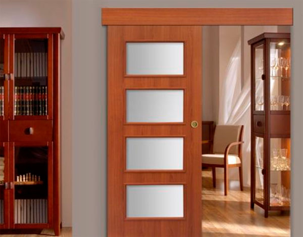 Раздвижные двери в дизайне интерьера