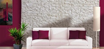 Натуральный и искусственный декоративный камень для внутренней отделки стен в квартире