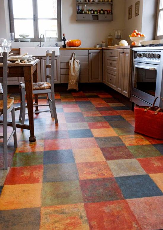 Какого цвета линолеум выбрать для кухни