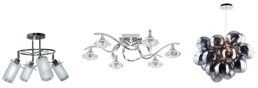 Стильные люстры потолочные в спальню – фото