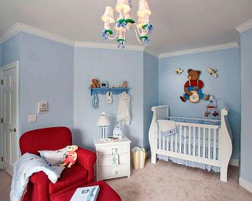 Потолочная люстра для детской спальни