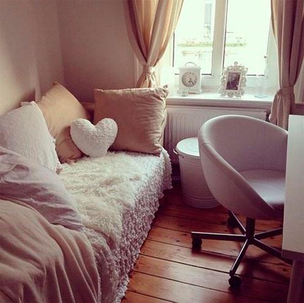 Как сделать уютной меленькую спальню