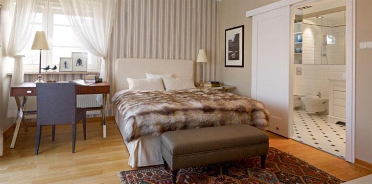 Какие обои выбрать для спальни – фото стены за кроватью