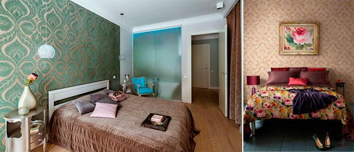 Какие обои лучше выбрать для спальни в определенном стиле