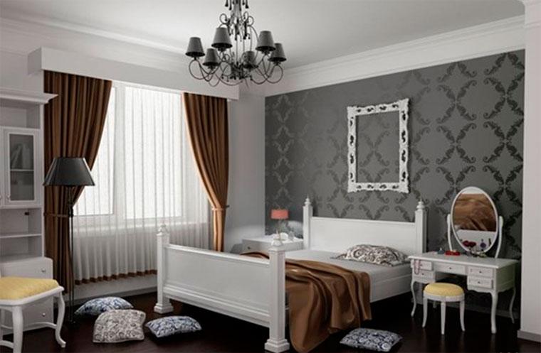 Какие по цвету обои выбрать для спальни