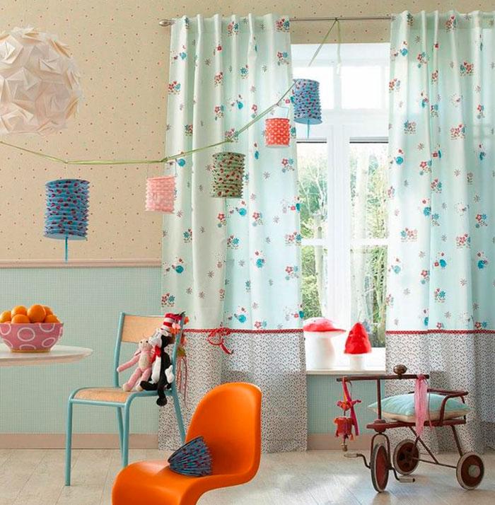 Занавески для детской комнаты мальчика – фото