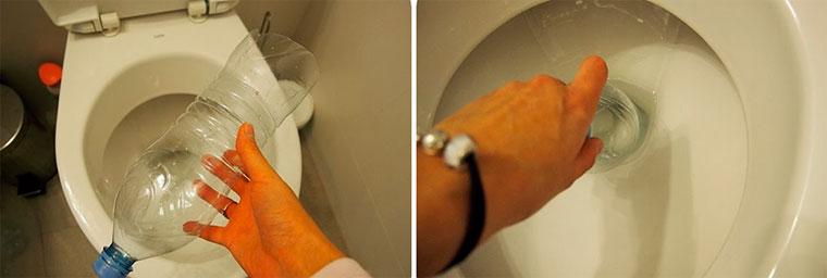 Прочистить засор в ванной в домашних условиях 2
