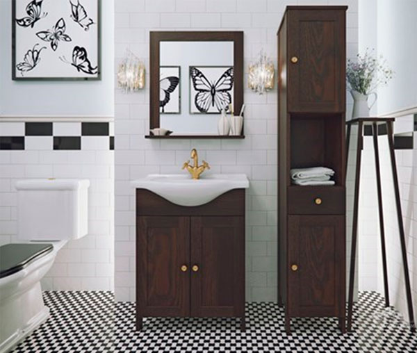 Модный дизайн ванной комнаты 2017