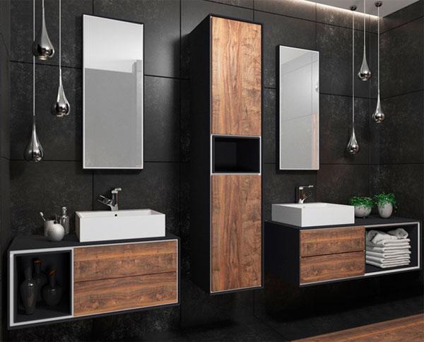 Популярные цвета в ванной комнате в 2017 году