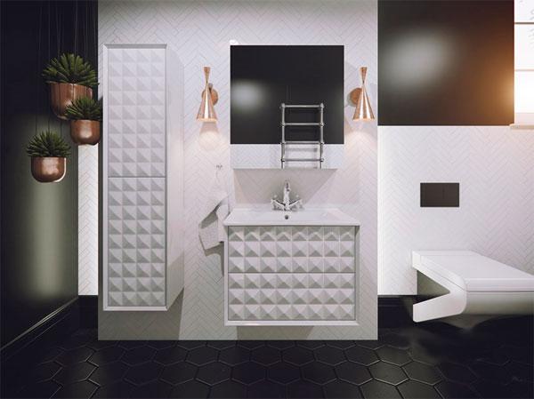Тренды 2017 в ванной комнате – революция 3D