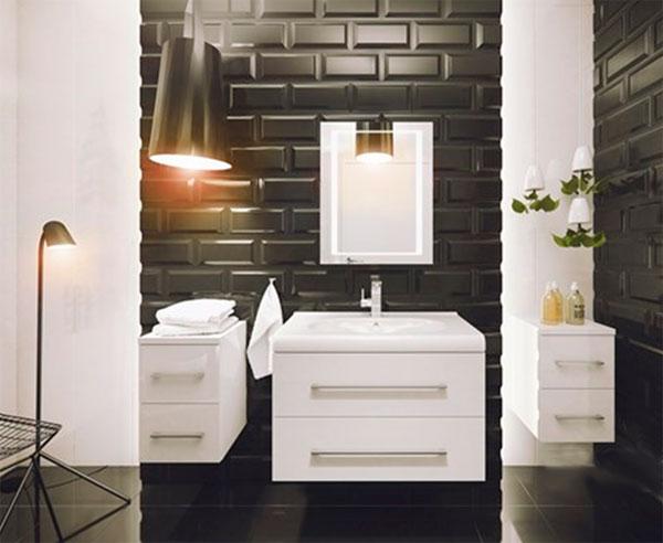 Модный дизайн ванной комнаты 2017 – фото, новинки
