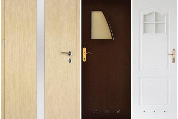 Двери со стеклом – для небольшой комнаты без окон
