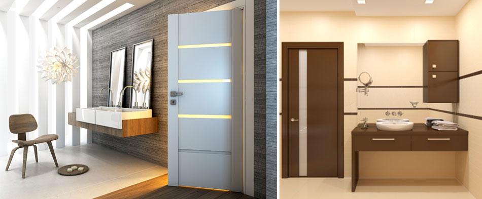 Как выбрать двери в ванную комнату