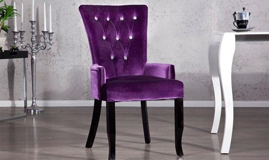 стул в стиле барокко