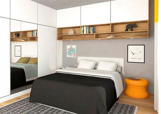 Спальный гарнитур для маленькой спальни – фото
