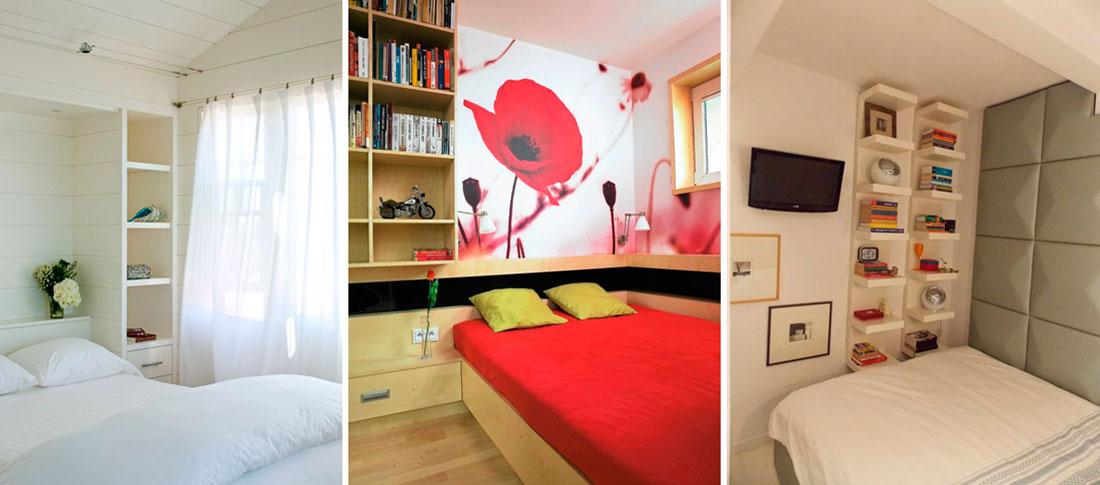 Спальный гарнитур для спальни 6 кв м – фото