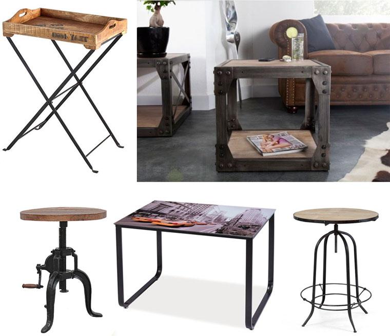 Промышленная мебель и декорации