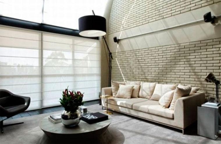 Окна дома в стиле лофт