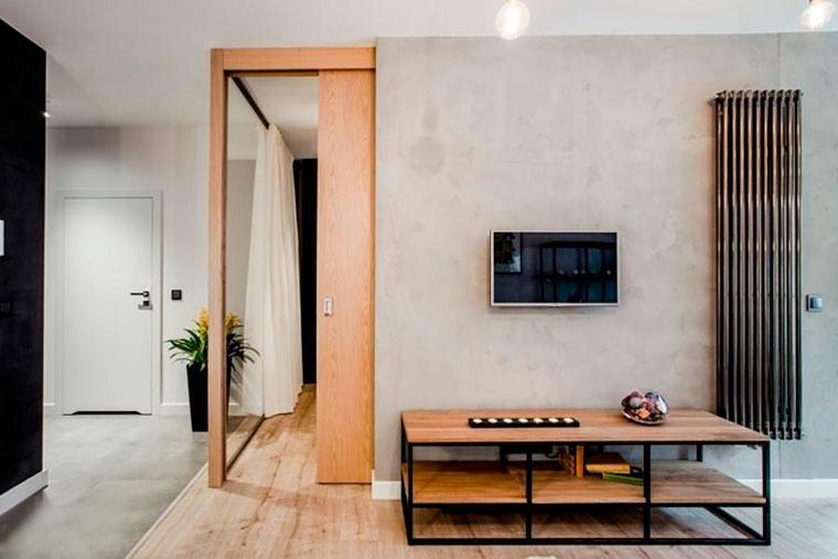 Стиль лофт в интерьере маленькой комнаты – выбираем мебель