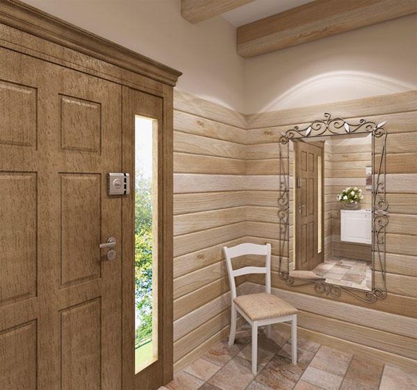 Деревянные панели для стен в стиле прованс – фото