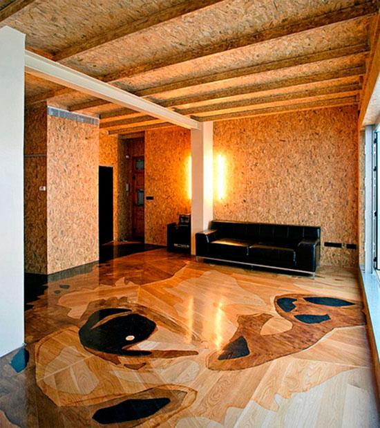Los paneles de madera para paredes for Paneles para paredes interiores