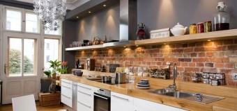Полочки на кухню, фото