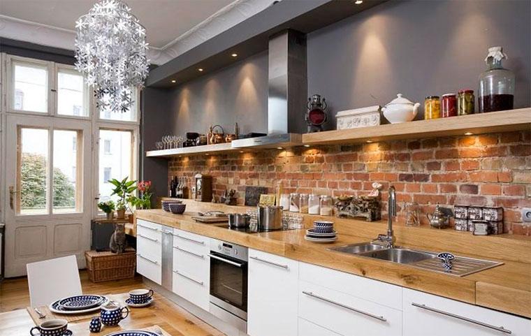Полочки для кухни на стену
