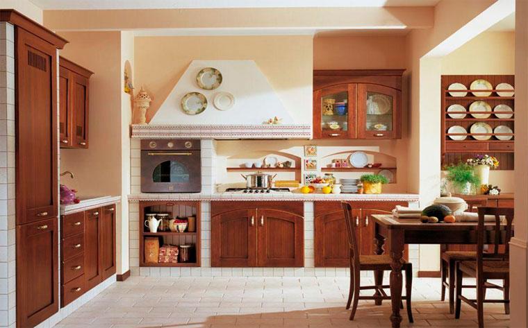 Деревянные декоративные полочки на стену на кухню – фото
