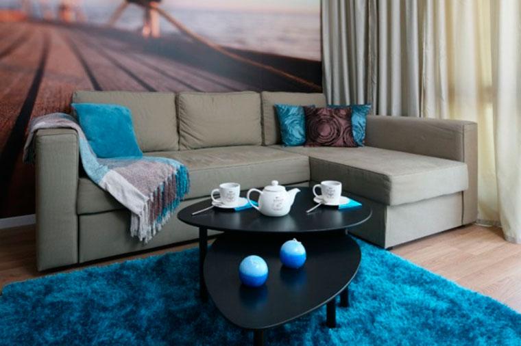 Мебель серого цвета в интерьере – фото