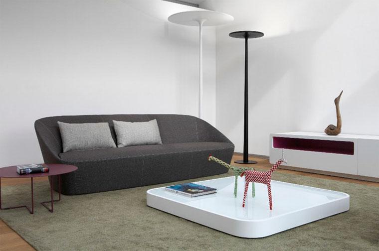 Серая мебель в интерьере