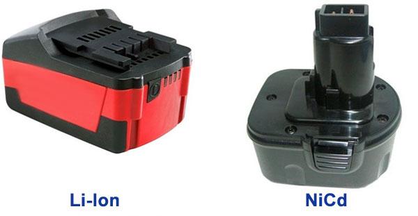 никель-кадмиевый (NiCd) и литий-ионный (Li-Ion) аккумуляторы