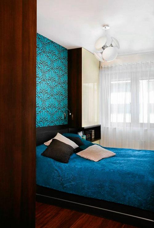 Современный дизайн спальни 9 кв м – фото