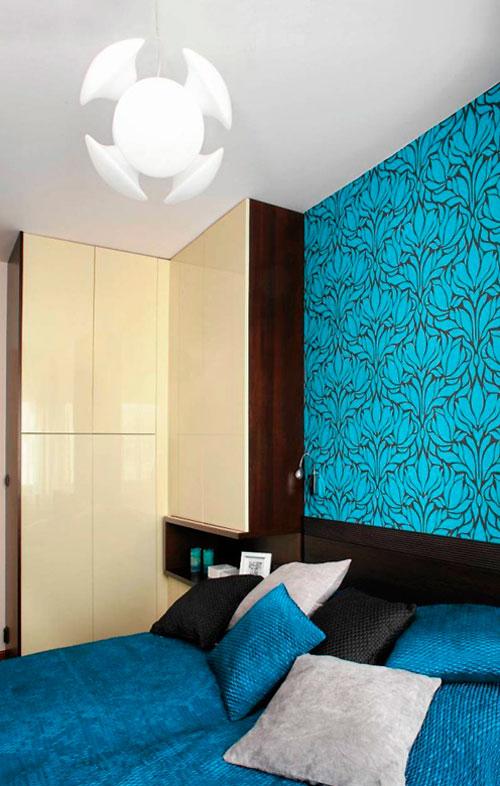 Эргономичный дизайн спальни (фото) 9 кв м