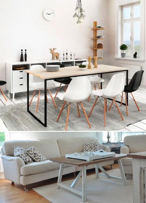 Скандинавский стиль в интерьере – мебель