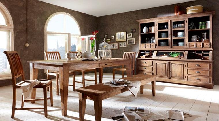 Старинная мебель в различных стилях интерьера