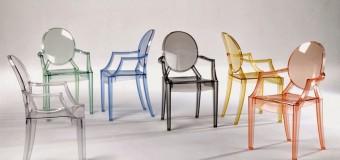 Прозрачные пластиковые стулья ghost