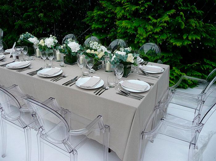 В саду, на террасе или балконе