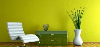 Сочетание зеленого цвета с другими в интерьере
