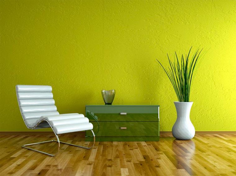 С какими цветами сочетается зеленый в интерьере?