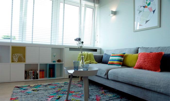 Роль цвета стен в пропорциях комнаты