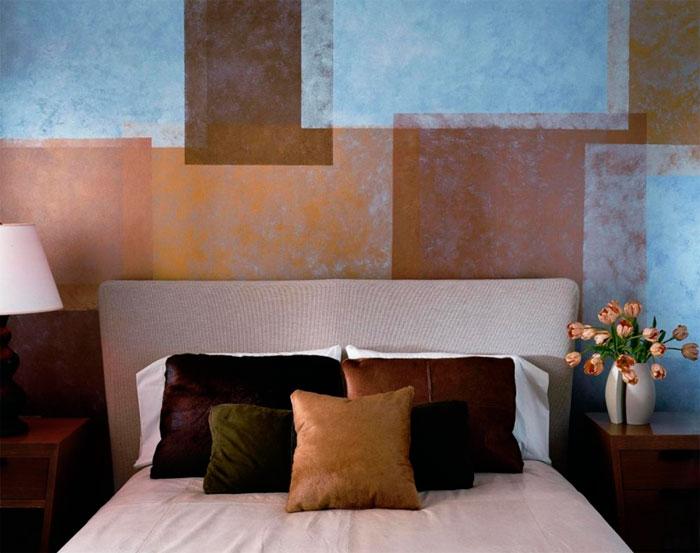 Как покрасить стены структурной краской – фото