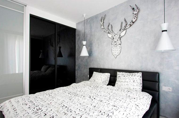 Подвесные прикроватные лампы для спальни – фото