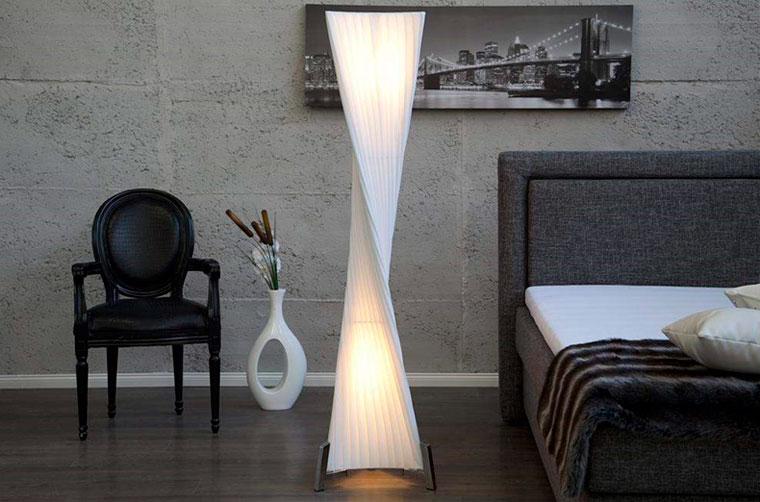 Современные напольные лампы торшеры – фото