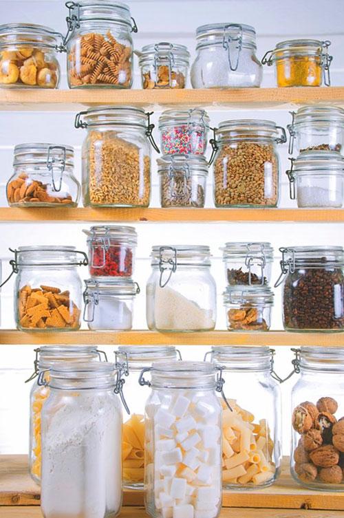 продукты надо хранить в стеклянной таре