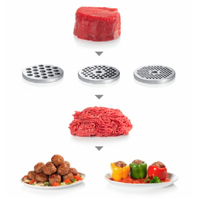 Какие решетки должна иметь мясорубка?