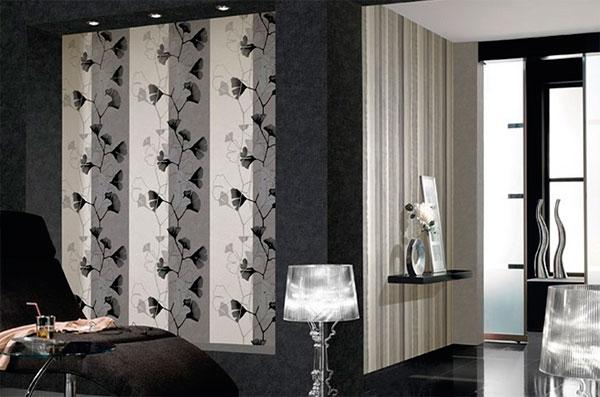 Как подобрать обои в гостиную – фото комбинаций цветов и узоров