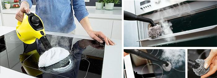 для очистки плиты и духовки