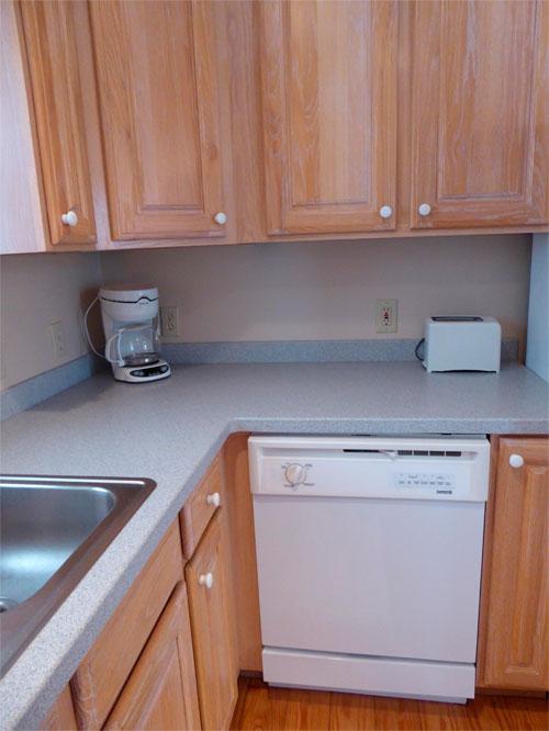 Пространство для посудомоечной машины