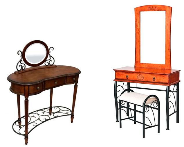 Классическое трюмо с зеркалом в спальню – фото