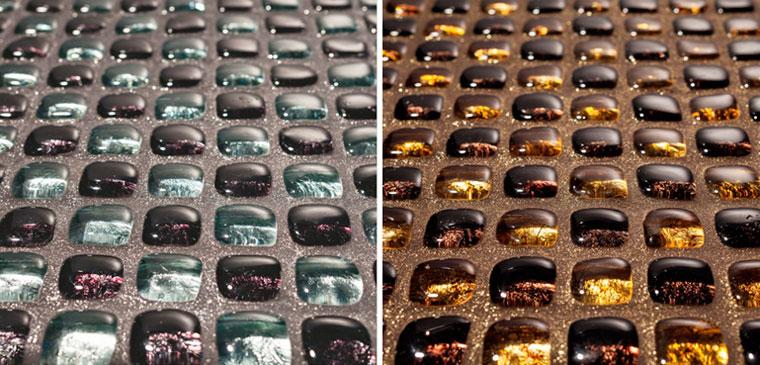 Фото – затирка для мозаики с блестками